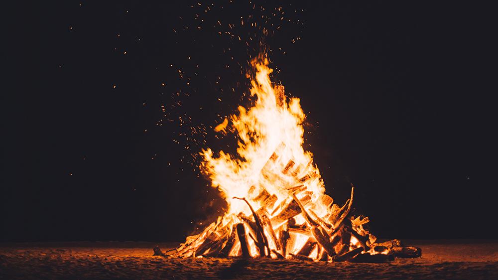 Fall Virtual Campout Campfire