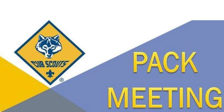 Pack Meeting – 9/27@ 7p @ Heritage church == GREAT SUCCESS!